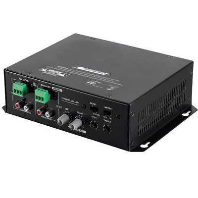 Monoprice Commercial Audio 120W 2ch Mixer Amp (No Logo)