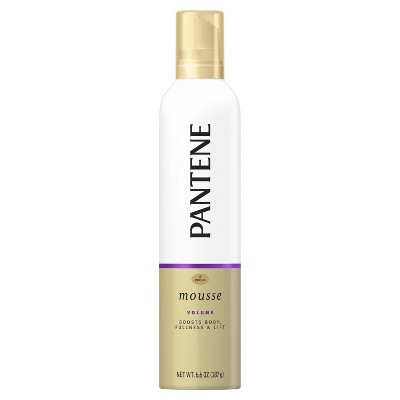 Pantene Pro-V Volume Body Boosting Mousse to Boost Fine Flat Hair Maximum Fullness - 6.6oz