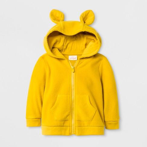 e0201e267 Baby Boys' Critter Microfleece Hooded Sweatshirt - Cat & Jack ...