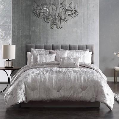 Turin Crinkle Velvet Comforter Set - Riverbrook Home