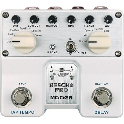 Mooer Reecho Pro Delay Effects Pedal - image 1 of 1