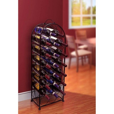 23 Bottle French Style Wine Arch Wine Rack - Sorbus