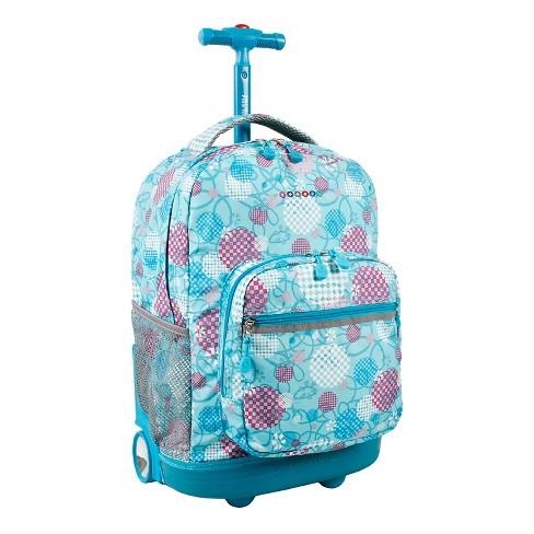 9849743147 J World Sunrise Rolling Backpack - Dandelion : Target