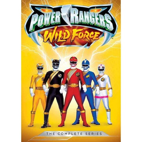 Power Rangers Wild Force: The Complete Series (DVD) - image 1 of 1