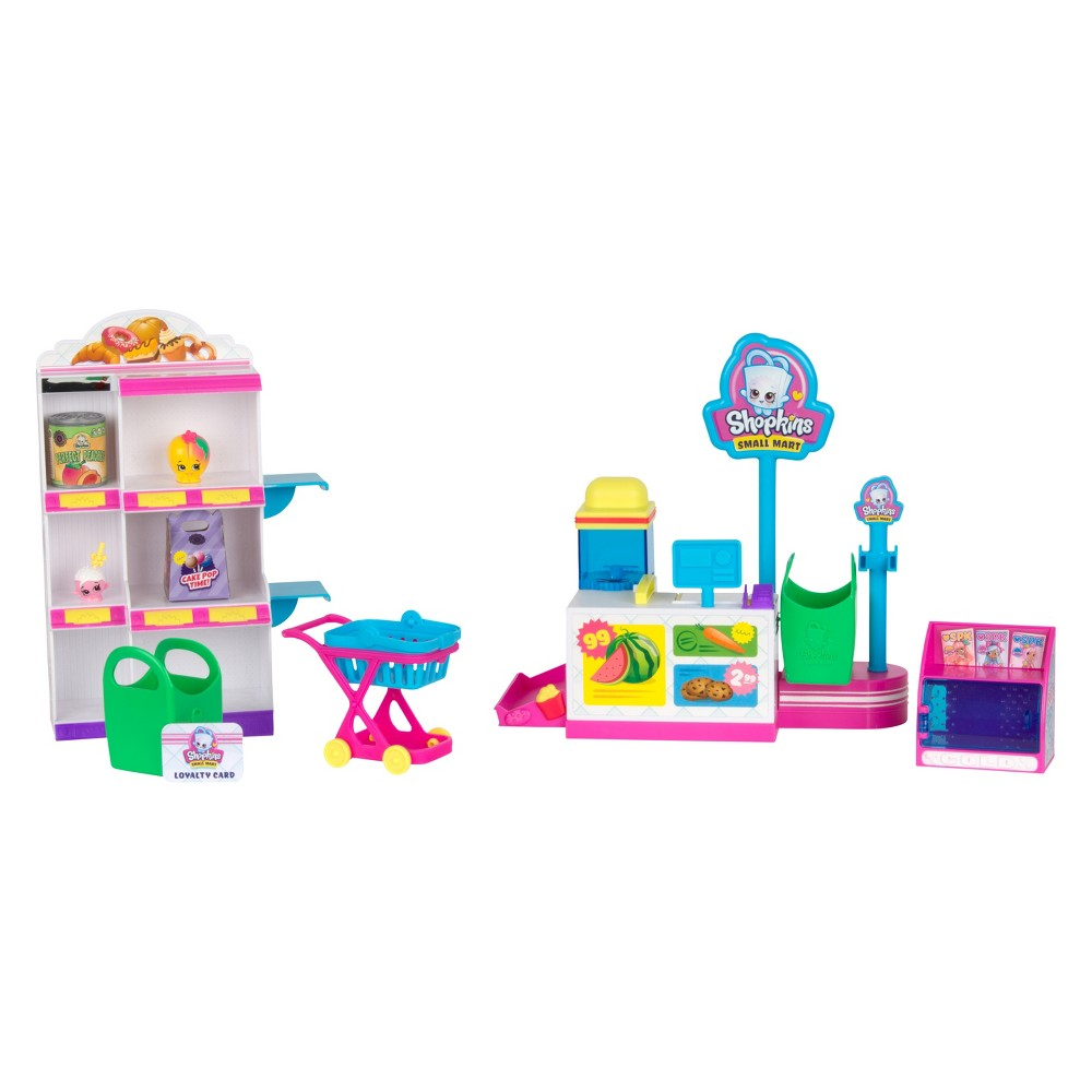 Shopkins Pick'n'Pack Small Mart Playset, Multi-Colored