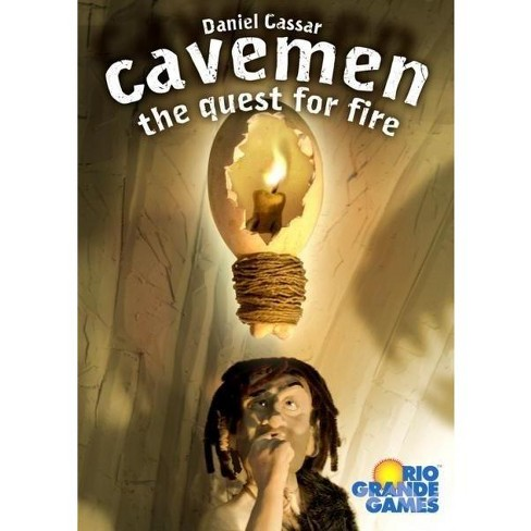 Cavemen - The Quest for Fire Board Game - image 1 of 1