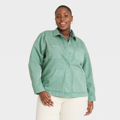 Women's Long Sleeve Chore Jacket - Universal Thread™