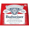 Budweiser Lager Beer - 20pk/12 fl oz Bottles - image 3 of 3