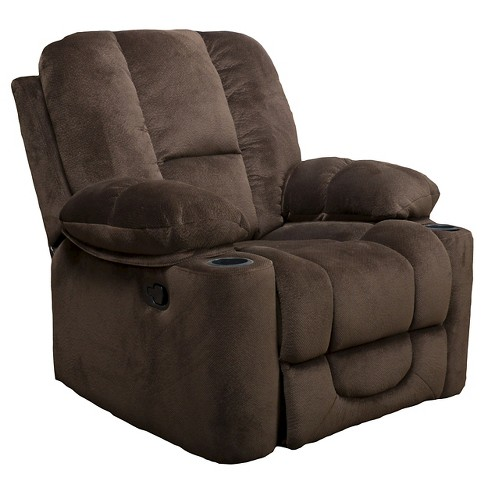 Gannon Glider Recliner Club Chair - Christopher Knight Home - image 1 of 4