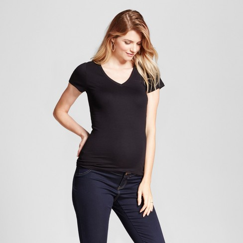2505185f9fa Maternity V-Neck T-Shirt - Isabel Maternity By Ingrid   Isabel™   Target