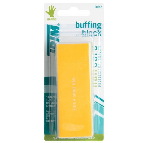 Trim Nail Care 4-Step Color-Coded Buffing Block - image 1 of 4