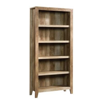 """71"""" Dakota Pass 5 Shelf Bookcase Craftsman Oak - Sauder"""