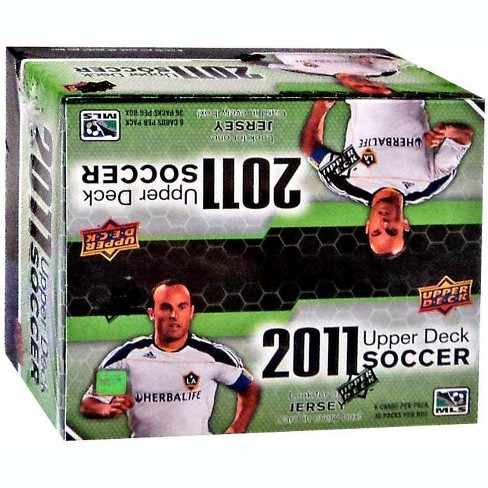 Mls Soccer 2011 Soccer Trading Card Retail Box 36 Packs Target