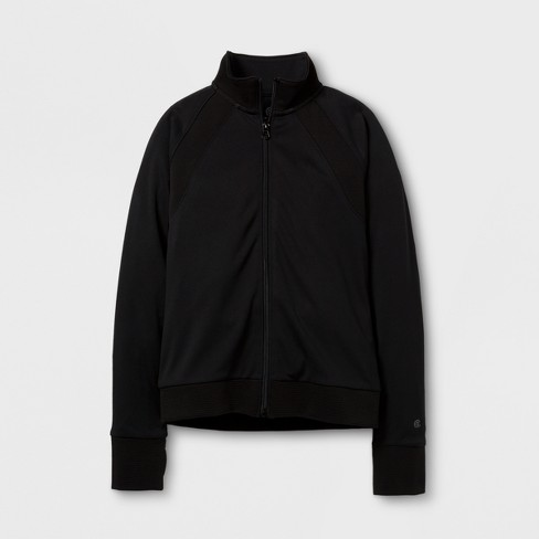 8f76719dc430 Girls  Track Jacket - C9 Champion® Black XS   Target