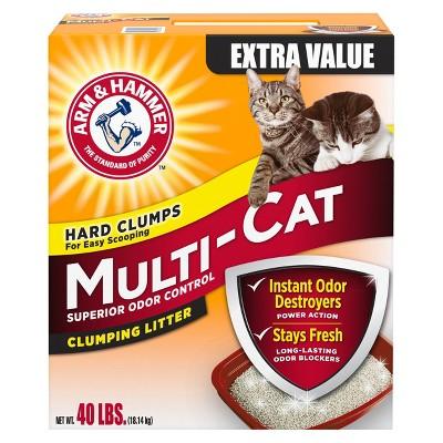Cat Litter: Arm & Hammer Multi-Cat