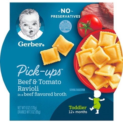 Gerber Pasta Pick-ups, Beef & Tomato - 6oz - image 1 of 6
