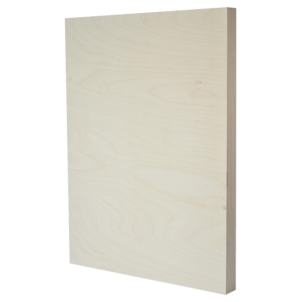 "Image of ""American Easel Primed Wood Painting Panel, Clear Gesso, 18""""x24"""""""