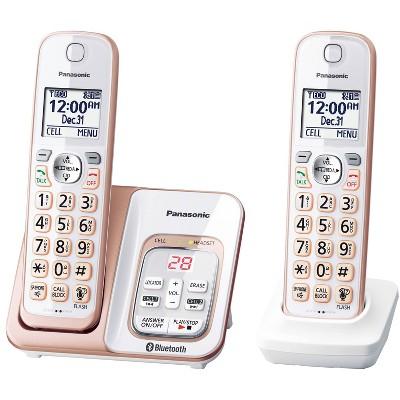 Panasonic Link2Cell Bluetooth Cordless Phone - KX-TGD562G - White