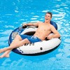 Intex River Run 1 Person Floating Tube (2 Pack) and 12 Volt  Electric Air Pump - image 3 of 4