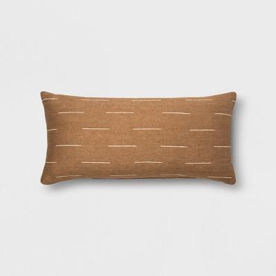 Silk Dash Oversize Lumbar Throw Pillow Neutral - Project 62™