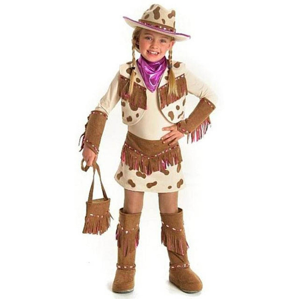 Kids' Rhinestone Cowgirl Hat Halloween Costume Headwear Princess Paradise, Girl's, Size: XS, Multi-Colored