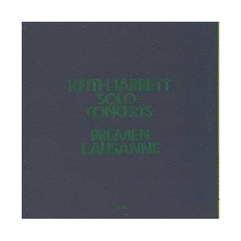 Keith Jarrett - Solo Concerts Bremen/Lausanne (CD) - image 1 of 1