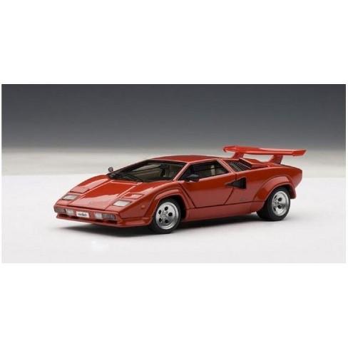 Lamborghini Countach 5000 S Red 1 43 Diecast Model Car By Autoart