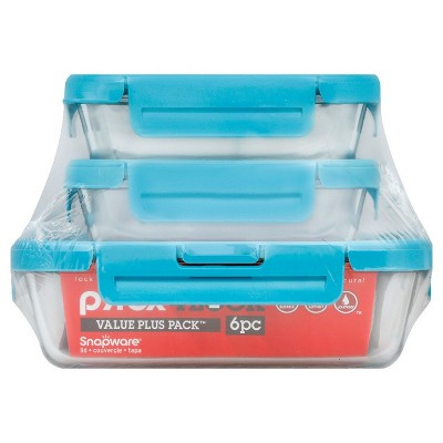 Pyrex Food Storage Container Set Turquoise