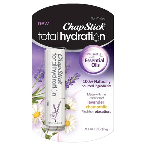 Chapstick Total Hydration Essential Oils Lip Balm - Relax - 0.12oz - image 1 of 2