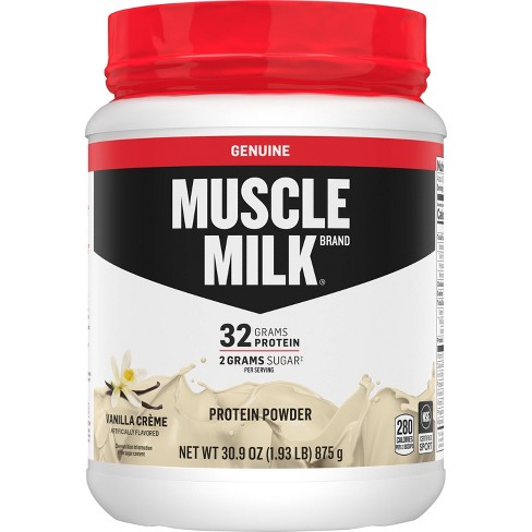 Muscle Milk Lean Muscle Protein Powder - Vanilla Crème - 1.93lb : Target