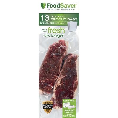 FoodSaver 1gal 13ct Vacuum Seal Bags