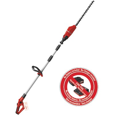 EINHELL GE-HH Power X-Change 18-Volt Cordless 18-Inch Telescoping Pole Hedge Trimmer, Tool Only