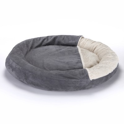 Lakeside Animal Pet Bed with Blanket Cover Top for Dogs and Cat
