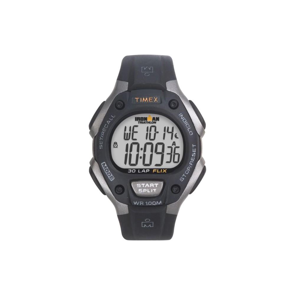 Men 39 S Timex Ironman Classic 30 Lap Digital Watch Black T5e901jt