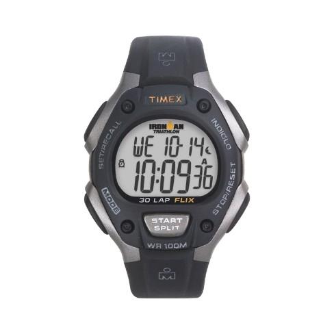 Men's Timex Ironman Classic 30 Lap Digital Watch - Black T5E901JT - image 1 of 3