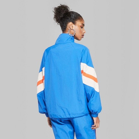 9691d3c988dd54 Women's Retro Track Jacket - Wild Fable™ Royal Blue. Shop all Wild Fable