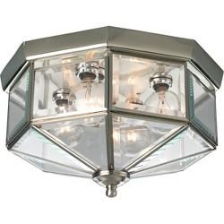 Progress Lighting P5789 4 Light Flush Mount Outdoor Ceiling Fixture