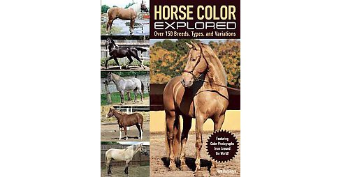 Horse Color Explored : Over 150 Breeds, Types, and Variations (Paperback) (Vera Kurskaya) - image 1 of 1