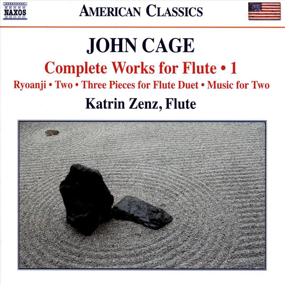 Katrin Zenz - Cage:Complete Works For Flute Vol 1 (CD)