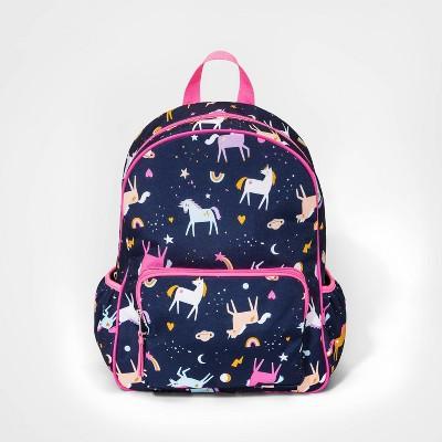 Girls' Unicorn Backpack - Cat & Jack™ Navy