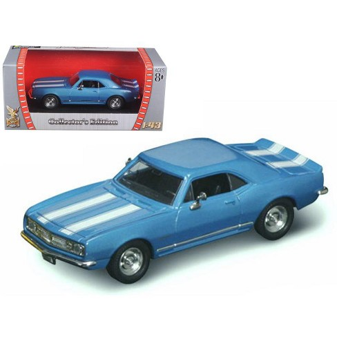 1967 Chevrolet Camaro Z-28 Blue 1/43 Diecast Model Car by Road Signature - image 1 of 1
