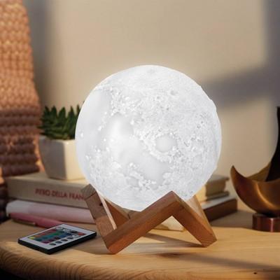 Moon Mood Novelty Table Lamp Warm White - West & Arrow