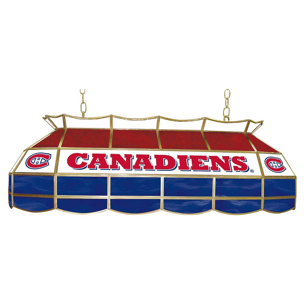 Montreal Canadiens Stained Glass Lighting Fixture - 40 inch