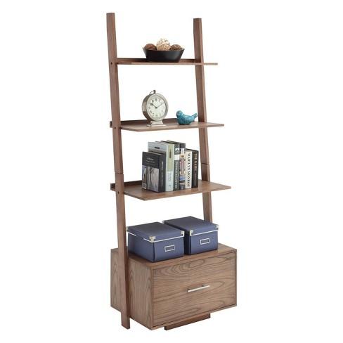 Johar Furniture 69 American Heritage With File Drawer Ladder