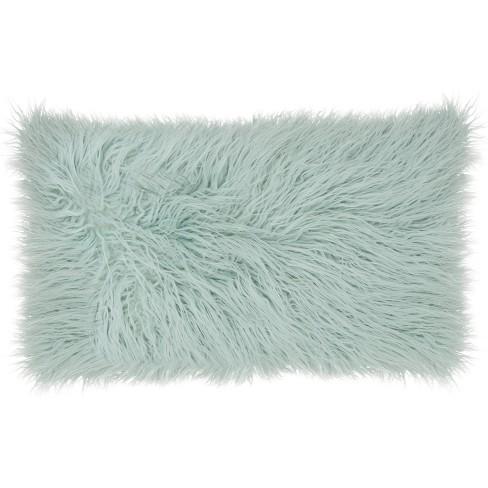 Nourison Faux Tibetan Lamb Throw Pillow - image 1 of 3