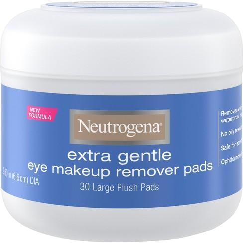 Neutrogena Extra Gentle Eye Makeup Remover Pads - 30ct - image 1 of 4