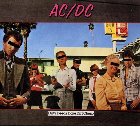 ACDC - Dirty Deeds Done Dirt Cheap (Vinyl) - image 1 of 4