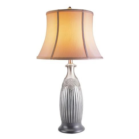 OK Lighting Solar Table Lamp - image 1 of 1