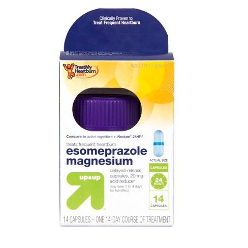 Esomeprazole Acid Reducer Capsules - 14ct - up & up™ - image 1 of 4