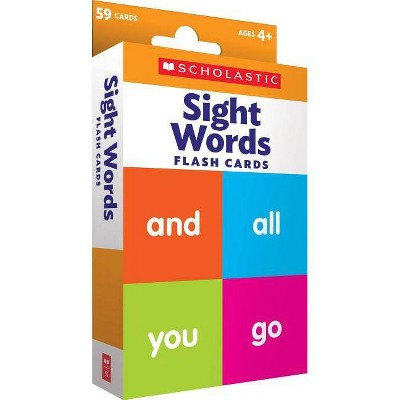 Sight Words Flash Cards - by Scholastic